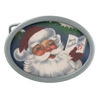 Natal vintage, 50 Papai Noel alegre retro