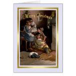 Natal vintage cartao