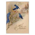 Natal vintage cartões