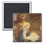 Natal vintage natividade, bebê Jesus de Mary Ima