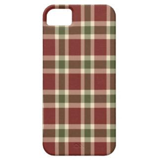 Natal-xadrez Capa Para iPhone 5