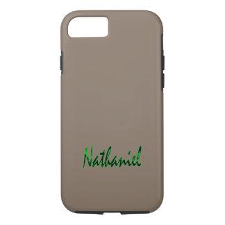 Nathaniel personalizou capas de iphone resistentes