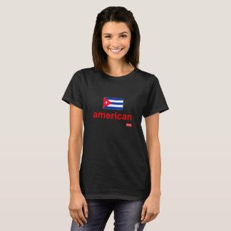 NationOfImmigrants - eu sou Cubano-Americano Camiseta