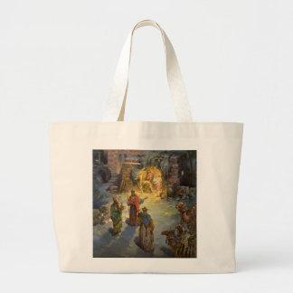 Natividade do natal vintage bolsa para compra