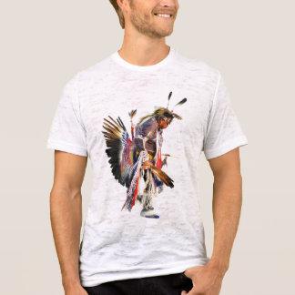 Nativo americano Sundancer - t-shirt do vintage