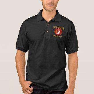 Nativo americano (terrorismo de combate) camisa polo