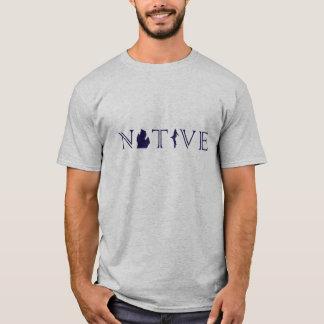 NATIVO do Michigan dos homens com a camisa