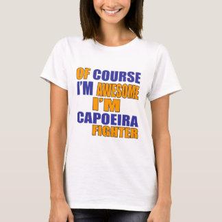 Naturalmente eu sou lutador de Capoeira Camiseta