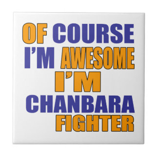 Naturalmente eu sou lutador de Chanbara