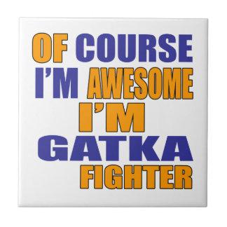 Naturalmente eu sou lutador de Gatka