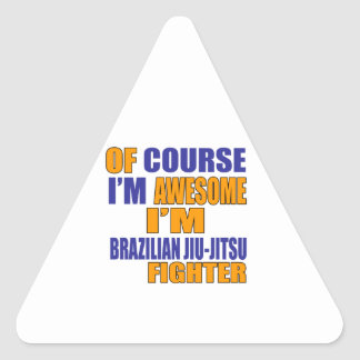 Naturalmente eu sou lutador de Jiu-Jitsu do Adesivo Triangular