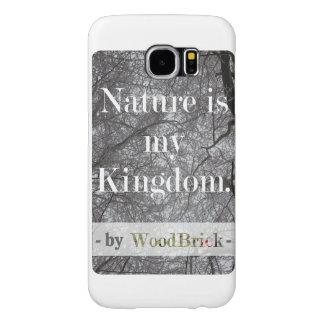"""Nature is my kingdom "" &snowy treetops samsung Capas Samsung Galaxy S6"