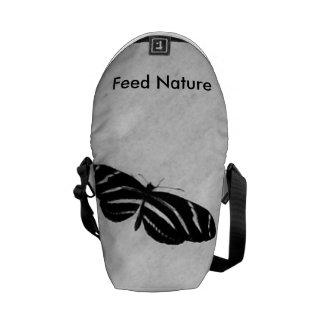 Natureza da alimentação bolsa mensageiro