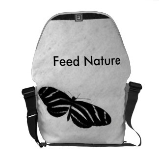 Natureza da alimentação bolsas mensageiro