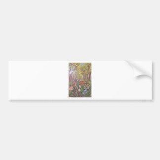 natureza da arte da mão da pintura da pintura da adesivo para carro