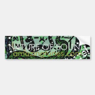 Natureza do som adesivos