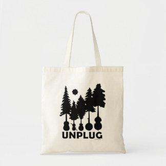 Natureza e sacola da música bolsa tote