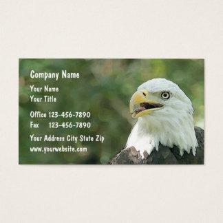 Natureza Eagle Cartão De Visitas