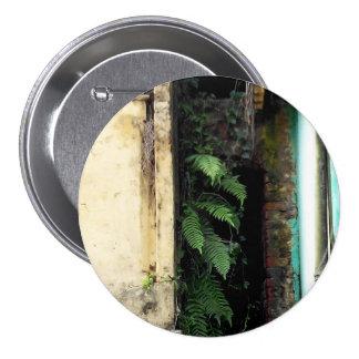 Natureza redonda do abstrato do botão bóton redondo 7.62cm