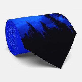 Naturezas melhores - floresta da noite gravata