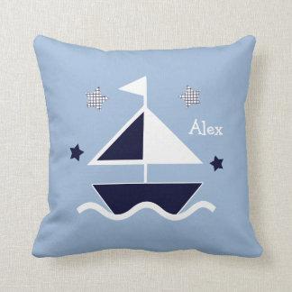 """Náuticos personalizados/veleiro/estrelas"" Almofada"
