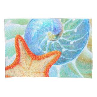 Nautilus e estrela do mar