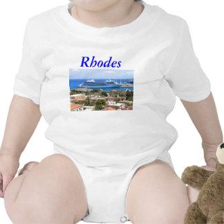 Navegador de sete mares no Rodes T-shirts
