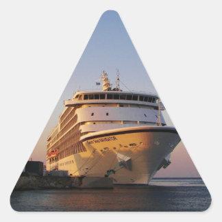 Navegador dos mares do forro sete adesivo triângulo