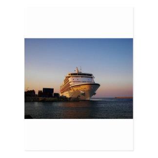 Navegador dos mares do forro sete cartão postal