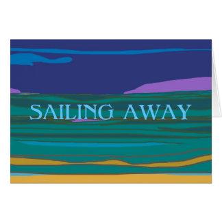 Navegando o cartão ausente do adeus dos >Holidays