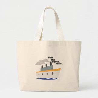 Navegue os sete mares! bolsa para compras