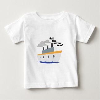 Navegue os sete mares! camiseta