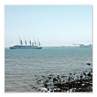 Navigação de Lisboa Impressão De Foto