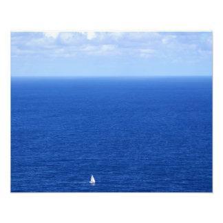 Navigação no lado de barlavento de Oahu 2 Arte De Fotos