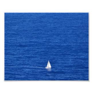 Navigação no lado de barlavento de Oahu Impressão De Foto