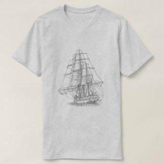 Navio de acendimento t-shirt