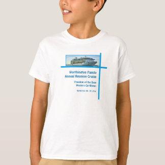 Navio de cruzeiros RFN1 do forro Camisetas