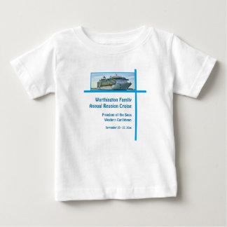 Navio de cruzeiros RFN1 do forro T-shirts
