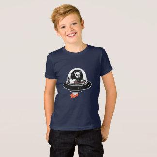 navio de espaço do leão camiseta