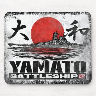 Navio de guerra Yamato Mousepad