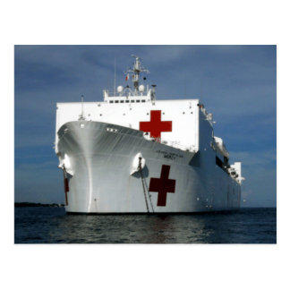 Navio de hospital do compaixão de USNS Cartão Postal