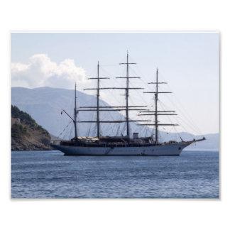 Navio de pirata foto arte