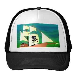 Navio de pirata boné