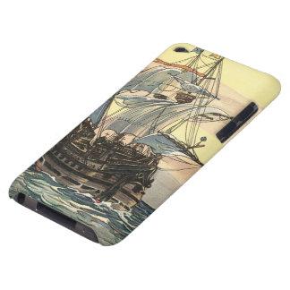 Navio de pirata do vintage, navigação de Galleon Capa Para iPod Touch