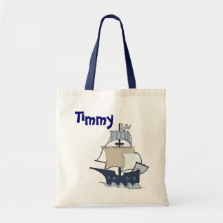 Navio de pirata dos desenhos animados bolsas