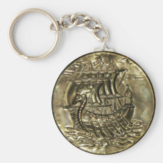 Navio de Viking Chaveiro