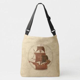 Navio do mistério do pirata bolsa ajustável