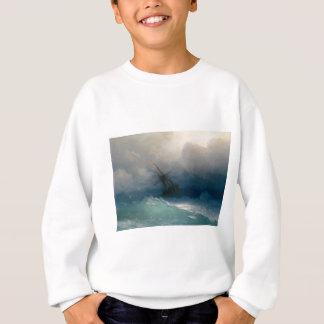 Navio em mares tormentosos, Ivan Aivazovsky Agasalho