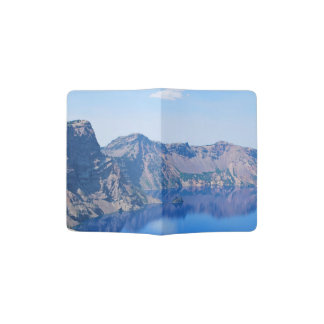 Navio fantasma do lago crater capa para passaporte