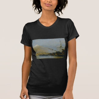 Navios de guerra de Toulon desmontadas por Camilo Tshirts